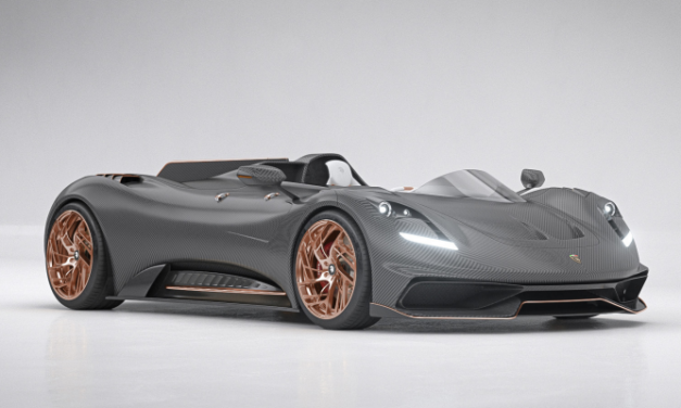 Rare one-off Nasr S1 Ego Project to be auctioned by House of Pilati – first ever supercar sold as a NFT
