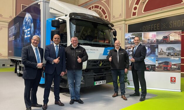 Recycling Lives electrifies waste transport with UK's first Z.E. skip loaders