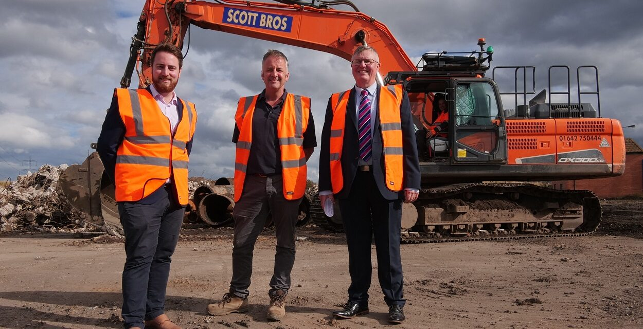 Scott Bros invests £4m in developing country's largest 'urban quarry' on Teesside