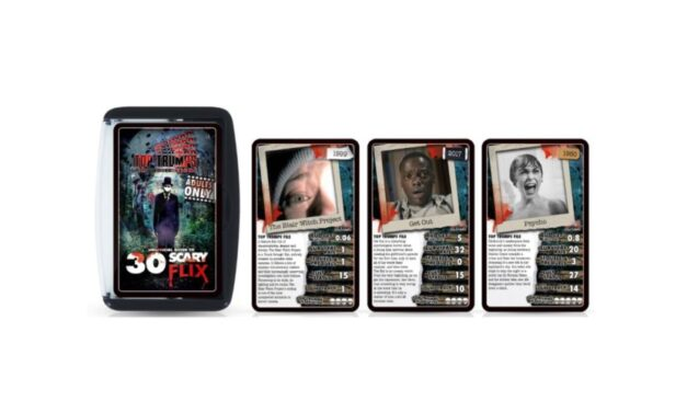 TOP TRUMPS GOES SPOOKY THIS HALLOWEEN WITH CARD GAME… AND IT'S NOT FOR THE FAINTHEARTED